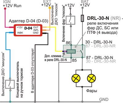 Сразу же: если Вы заказывали DRL-2-V для управления контроллером DRL-30, то это не нужно - к DRL-30-N приложен свой...